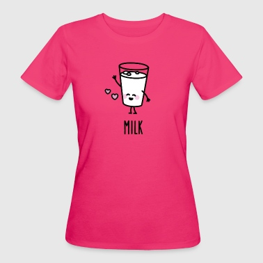 Milk - Best friends forever (BFF) - Camiseta ecológica mujer