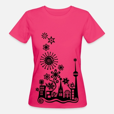 Lo�c Guerilla Gardening!, c, Auf die Plätze - Saatbombe los! Let's fight the filth with forks and flowers! - Women's Organic T-Shirt
