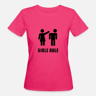 Girls Rule Girls Rule - Women's Organic T-Shirt