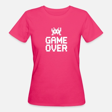 Sprite game over with sprite - Camiseta ecológica mujer