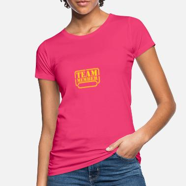 Namensschild name your team member - Frauen Bio T-Shirt