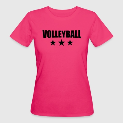 Volleyball T-shirt - beach volleyball shirt - team - Women's Organic T-shirt