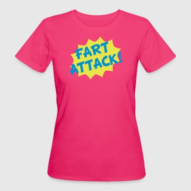 Fart Attack! - Frauen Bio-T-Shirt