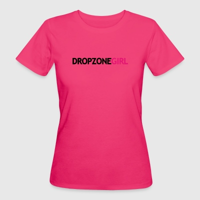 Drop Zone Girl - Women's Organic T-shirt