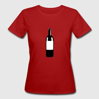 Wine Bottle - T-shirt ecologica da donna