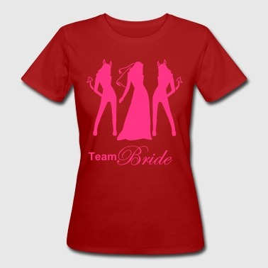 team bride - Vrouwen Bio-T-shirt