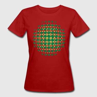 FUNKY DISCO SPACE SUPERNOVA (UK) - MOIRE PATTERNS (UK) by toneyshirts.de  - Women's Organic T-shirt
