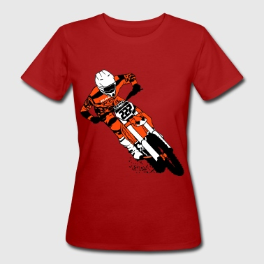 Motocross Evolution Moto Cross - motocross  - Women's Organic T-Shirt