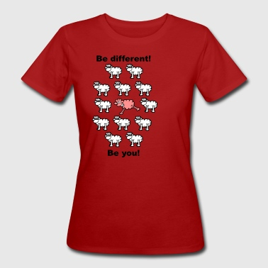 Different - T-shirt ecologica da donna