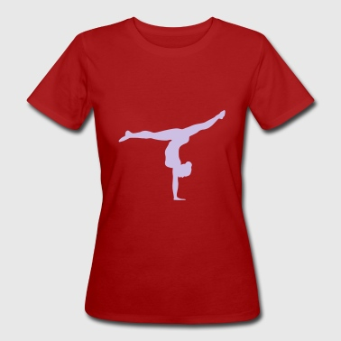 Turnerin, Gymnastin, Turnen - Frauen Bio-T-Shirt
