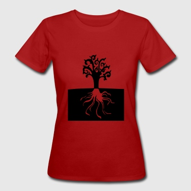 nature wild roots tree - Women's Organic T-shirt
