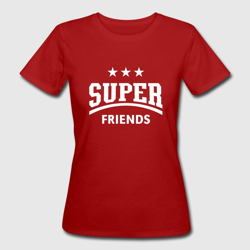 Super Friends - Frauen Bio-T-Shirt