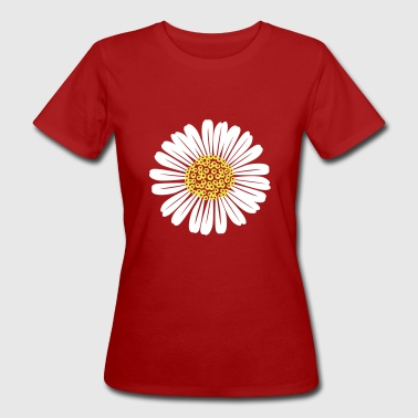 Daisy flower - Women's Organic T-shirt