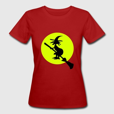 witch and full moon - Vrouwen Bio-T-shirt