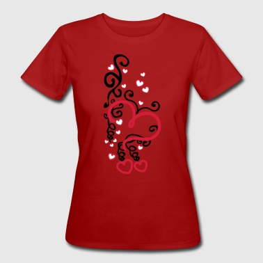 Heart Art - T-shirt ecologica da donna