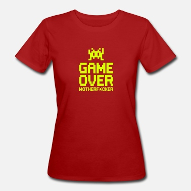 Boom Head Shot game over motherf*cker - Vrouwen Bio-T-shirt