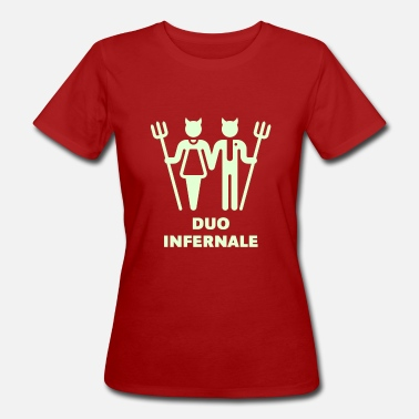 Duo Duo Infernale - Frauen Bio-T-Shirt
