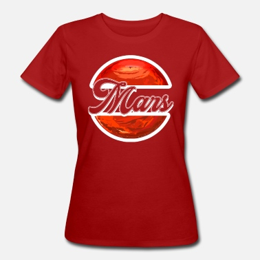 Red Sox Mars Red - Women's Organic T-Shirt