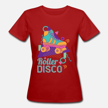Retro Roller Disco 1980 Party Années 80 Disco Party Années 70 - T-shirt bio Femme