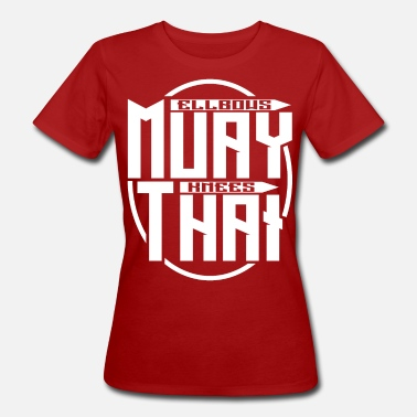 Muay Thai - Women's Organic T-Shirt