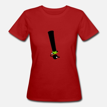 Typographie Blague exclamation - T-shirt bio Femme