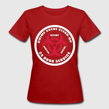 Crime Scene Clean-Up - Women's Organic T-Shirt