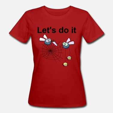 Startup Funny Web Spiders are now working on startup gift - Women's Organic T-Shirt