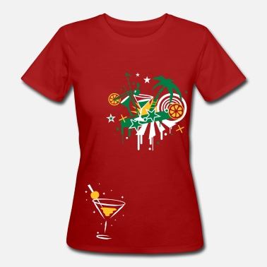 Sex Paradis cocktail_bar - T-shirt bio Femme