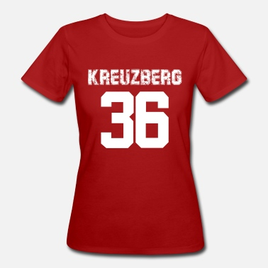 Kreuzberg Kreuzberg 36 neighborhood Berlin Ghetto - Women's Organic T-Shirt
