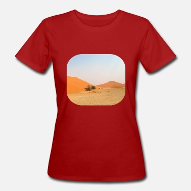Steppe Desert steppe photography - Women's Organic T-Shirt