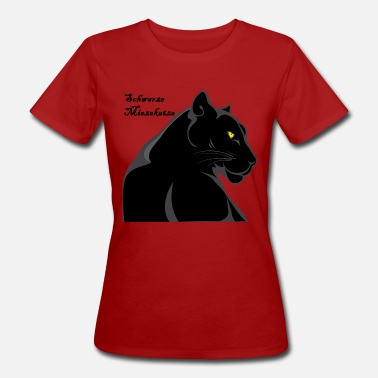 Black Panther Chat noir Panther Tiger - T-shirt bio Femme