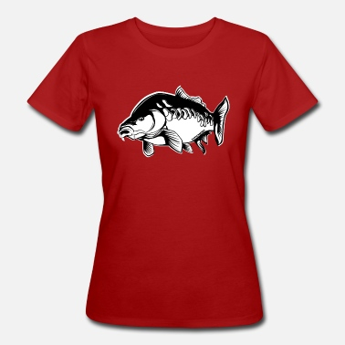Carpfishing Carp Carp Angler Gift Carpfishing - Women's Organic T-Shirt