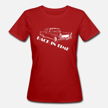 Back in Time - Frauen Bio T-Shirt