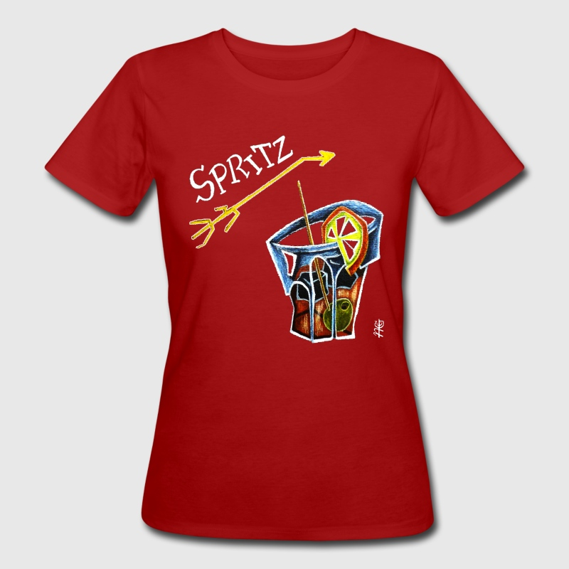 Spritz Aperol Party T-shirts Venice Italy - Energy Drink - Vrouwen Bio-T-shirt