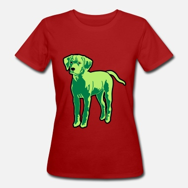 Dog Puppy - Frauen Bio T-Shirt