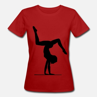 Floor Exercises Gymnastics & floor exercise - Women's Organic T-Shirt