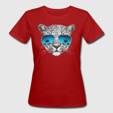 Leopard Cool - Frauen Bio-T-Shirt