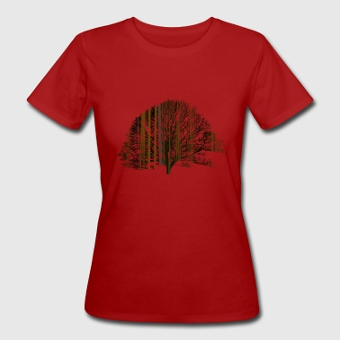 The tree and the earth - Frauen Bio-T-Shirt