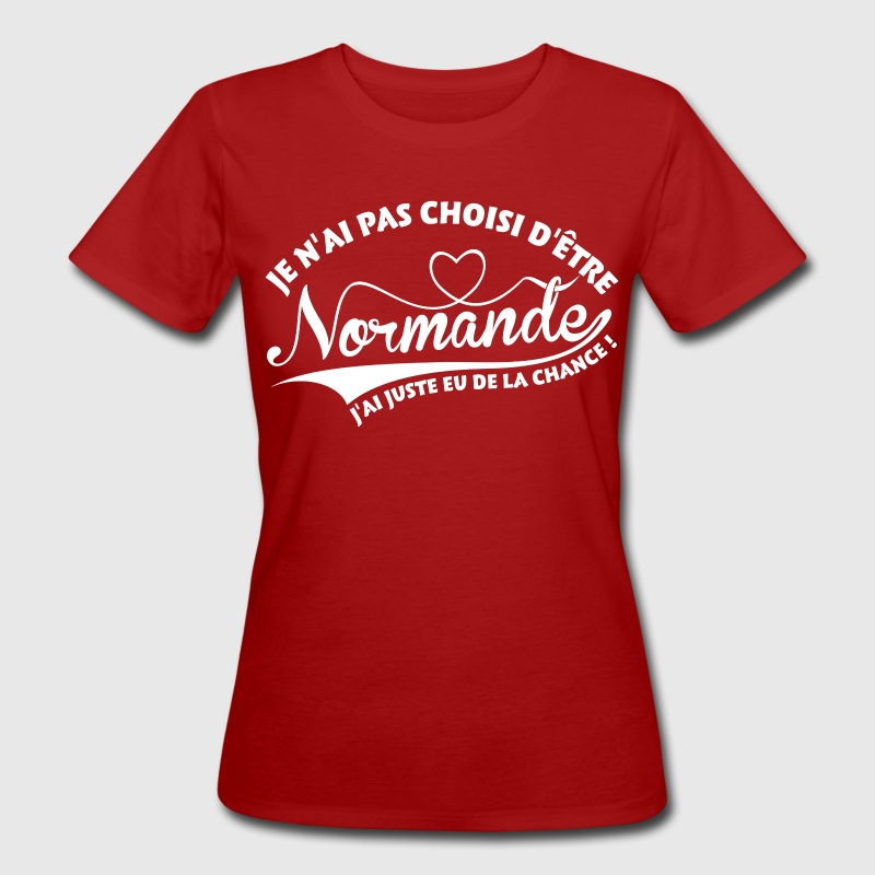 Normande chanceuse - T-shirt bio Femme