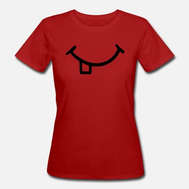 Ailments Mouth with teeth - Women's Organic T-Shirt