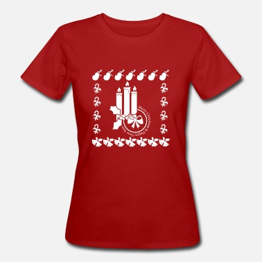 Advent Christmas Advent Advent Candle Candles - Women's Organic T-Shirt