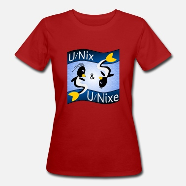 Unix Unix and Unixes - Women's Organic T-Shirt