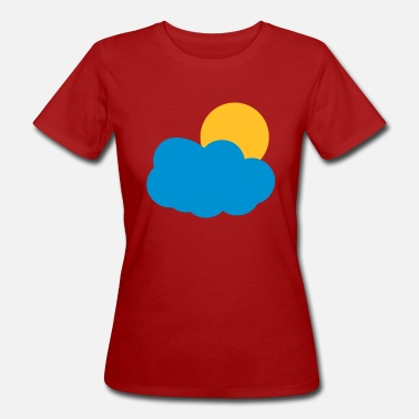 Clouds Cloud Sun Sun and Clouds - Women's Organic T-Shirt
