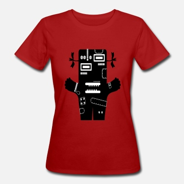 Livia Livia - Tech Monster Collection - Ekologisk T-shirt dam