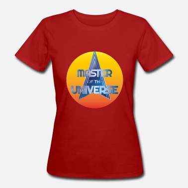Master Master of the Universe - T-shirt ecologica da donna
