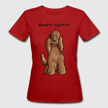 Der Cocker Spaniel - Frauen Bio-T-Shirt
