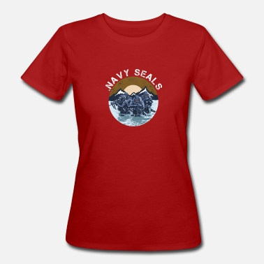 Navy Seals Navy Seal Rescue Diver - Women's Organic T-Shirt