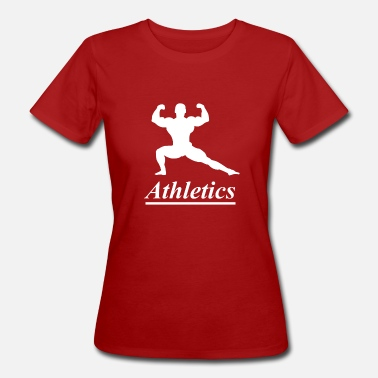 Athlete Athletics athlete - Women's Organic T-Shirt