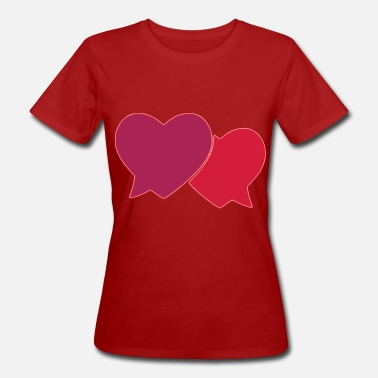Tender Tender hearts - Women's Organic T-Shirt