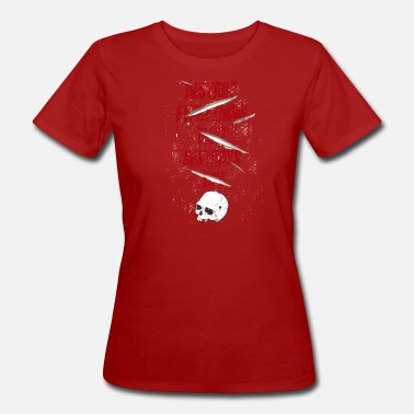 Destroyed Destroy - Women's Organic T-Shirt